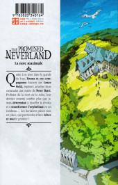 Verso de Promised Neverland (The) -19- La note maximale