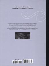 Verso de Les grands Classiques de la Bande Dessinée érotique - La Collection -124124- La chambre de verre