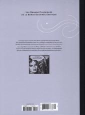 Verso de Les grands Classiques de la Bande Dessinée érotique - La Collection -125123- Stella - Tome 2