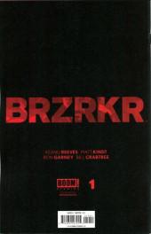 Verso de BRZRKR (Boom! Studios - 2021) -1C- Issue #1