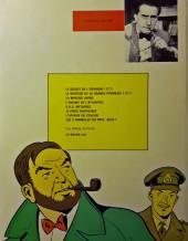 Verso de Blake et Mortimer (Les aventures de) (Historique) -3d1972- Le mystère de la Grande Pyramide