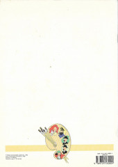 Verso de Tintim - Divers (en portugais) - Livro de colorir 1