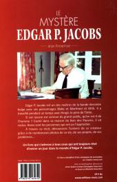 Verso de (AUT) Jacobs, Edgar P. - Le mystère Edgard P. Jacobs