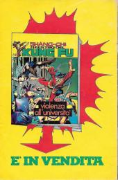 Verso de L'uomo Ragno V1 (Editoriale Corno - 1970)  -172- Pugno di Ferro