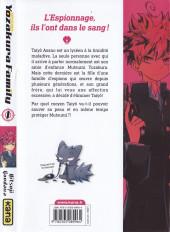 Verso de Mission : Yozakura Family -1- Tome1
