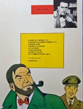 Verso de Blake et Mortimer (Les aventures de) (Historique) -2f1976'- Le Secret de l'espadon