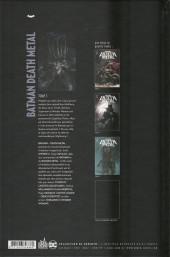 Verso de Batman : Death Metal -3- Tome 3