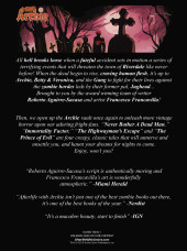 Verso de Afterlife with Archie Magazine (Archie Publications - 2014) -3- Issue # 3