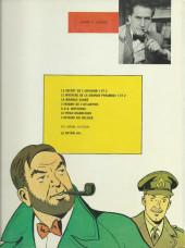 Verso de Blake et Mortimer (Les aventures de) (Historique) -7c1974- S.O.S. METEORES