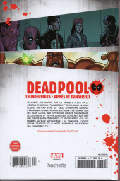 Verso de Deadpool - La collection qui tue (Hachette) -4567- Thunderbolts : Armés et dangereux