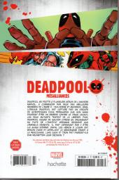 Verso de Deadpool - La collection qui tue (Hachette) -4704- Mésaillances