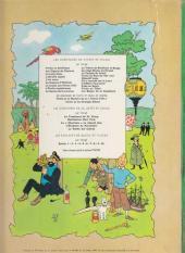 Verso de Tintin (Historique) -18B36- L'affaire Tournesol