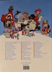 Verso de Spirou et Fantasio -38c2012- La Jeunesse de Spirou