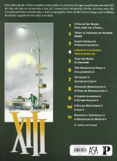 Verso de XIII (Público/ASA - Álbum duplo) -4- A Noite de 3 de Agosto / Treze Contra Um