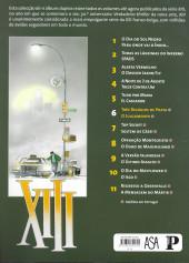 Verso de XIII (Público/ASA - Álbum duplo) -6- Três relógios de prata / O julgamento