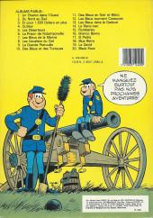 Verso de Les tuniques Bleues -13a1983- Les Bleus dans la gadoue