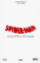 Verso de Spider-Man - De Père en Fils -N&B- Spider-Man  -  De Père en Fils (Edition N&B collector)