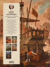 Verso de L'Épopée de la franc-maçonnerie -4- Royal society