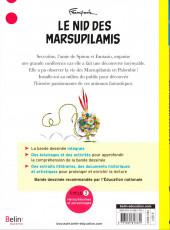 Verso de Spirou et Fantasio -12EDUC- Le nid des marsupilami