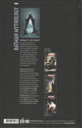 Verso de Batman Mythology -2- Gotham City