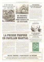 Verso de Le château des étoiles -17- L'exposition interplanétaire de 1875, suivi de Les Chimères de Vénus 5/6