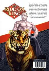 Verso de Ride-on King (The) -1- Volume 1