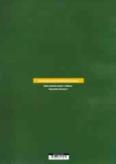 Verso de Incontornáveis de Banda Desenhada (Os) -1- Max Fridman : Rapsódia húngara