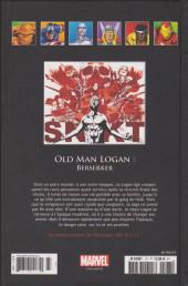 Verso de Marvel Comics - La collection (Hachette) -177136- Old Man Logan : Berserker