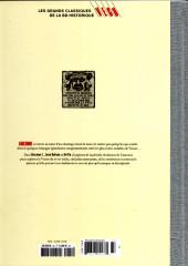 Verso de Les grands Classiques de la BD Historique Vécu - La Collection -34- Giacomo C. - Tome XI : Des Lettres...