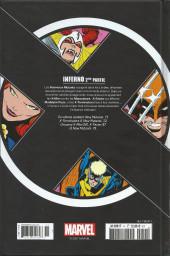 Verso de X-Men - La Collection Mutante -1134- Inferno 2ème Partie