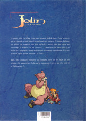 Verso de Jolin la teigne -2- La sorcière dans la lune