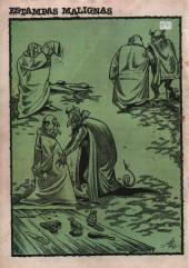 Verso de Dossier Negro -128- Mac Tavish y Araña Androméda