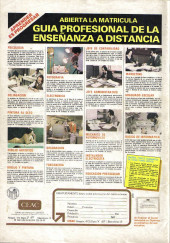Verso de Dossier Negro -133- Bonga y yo