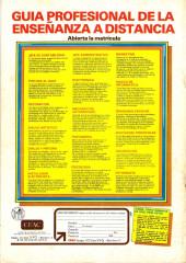 Verso de Dossier Negro -134- Mentes controladas
