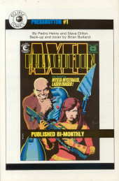 Verso de Twisted tales (Pacific comics - 1982) -9- Issue # 9
