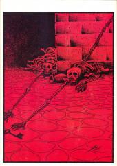 Verso de Dossier Negro -144- La bestia de Sarnadd