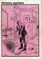 Verso de Dossier Negro -145- Buscando la muerte