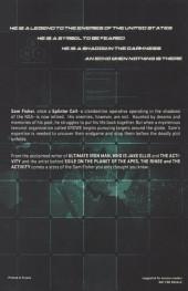 Verso de Tom Clancy's Splinter Cell Echoes -1- Splinter Cell Echoes