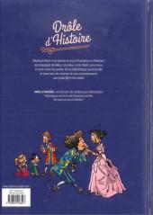 Verso de Drôle d'histoire (Duvigan/Derache) -3- Louis XIV Le Roi-Soleil