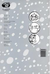 Verso de Primata comix -9- Entorpecidos pelo frio