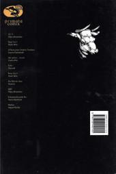 Verso de Primata comix -10- Dédalo