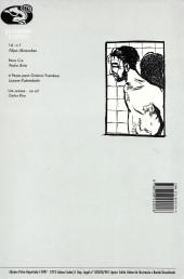 Verso de Primata comix -2- Pano cru (1 de 3)