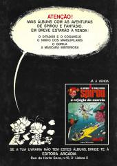 Verso de Spirou e Fantásio (en portugais) -4- Os herdeiros