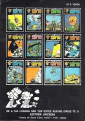 Verso de Spirou e Fantásio (en portugais) -1- 4 aventuras de Spirou e Fantásio