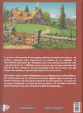 Verso de Les mémoires de Mathias -4- Le maître des bisons