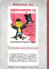 Verso de Spirou e Fantásio (en portugais) -2- O feiticeiro de Vila Nova de Milfungos