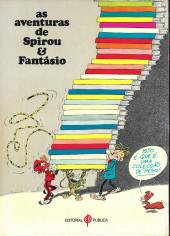 Verso de Spirou e Fantásio (en portugais) -3- Os chapéus negros
