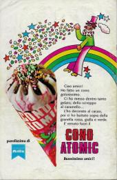 Verso de L'uomo Ragno V1 (Editoriale Corno - 1970)  -186- Minaccia di Morte per Zia May