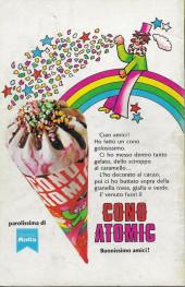 Verso de L'uomo Ragno V1 (Editoriale Corno - 1970)  -187- Nel Regno dell'Uomo-Cosa