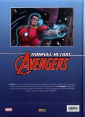 Verso de Marvel Action : Avengers -4- Tome 4